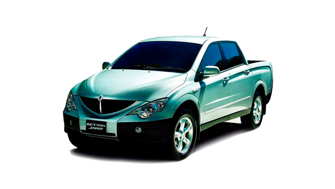 SSANGYONG Actyon Sports, I, 2.0d AT (141 л.с.) 4WD