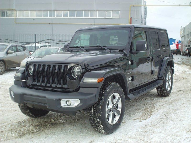 Jeep, Wrangler, IV (JL), 2.0 AT (272 л.с.) 4WD, (2017 - по н.в.)