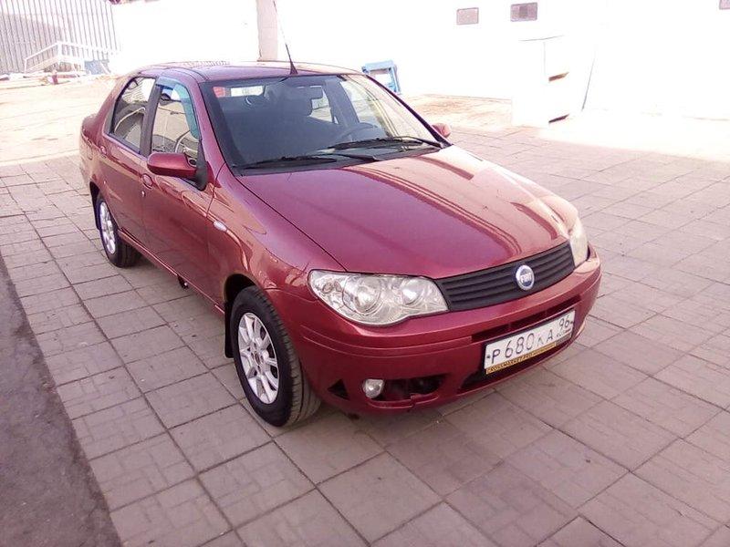 Fiat, Albea, I Рестайлинг, 1.4 MT (77 л.с.), (2005 - 2012)