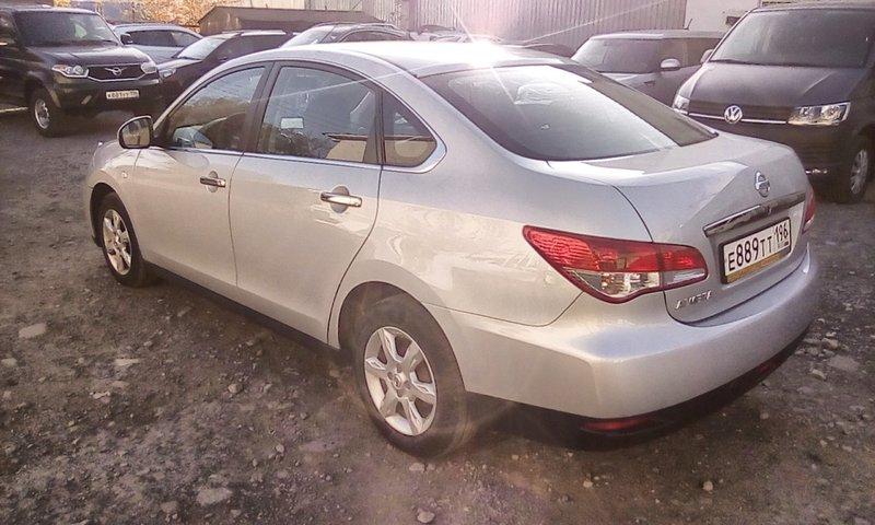 Nissan, Almera, III (G15), 1.6 AT (102 л.с.), (2012 - 2018)